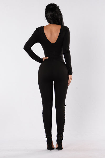 Made For This Jumpsuit - Black