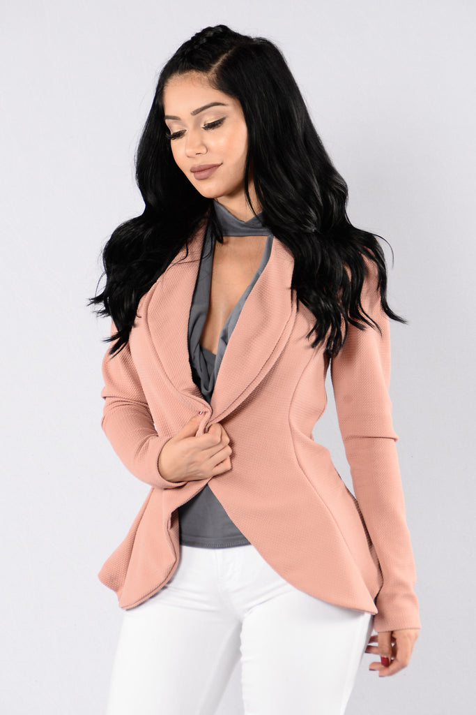 Meet & Greet Blazer - Mauve