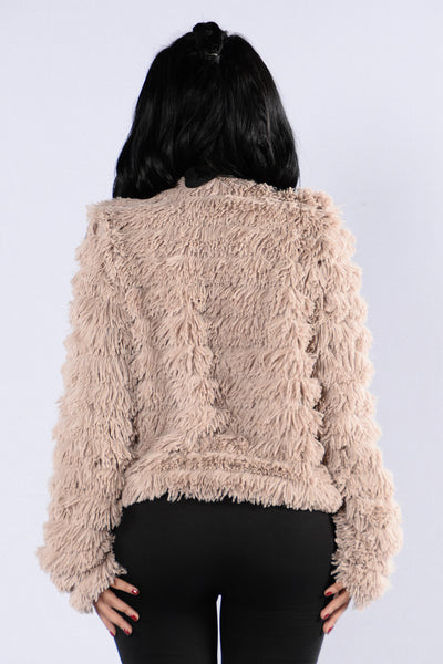 Werk Werk Werk Jacket - Blush