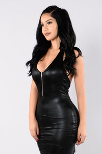 Headstrong Dress - Black
