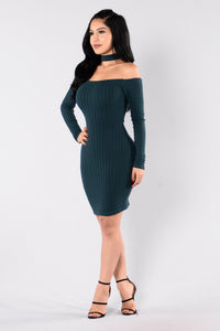 Imani Dress - Hunter Green