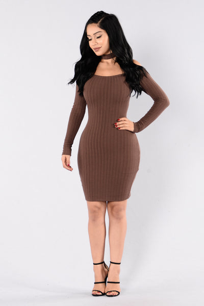Imani Dress - Chocolate