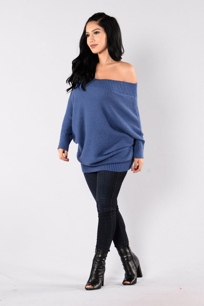 Jolene Sweater - Blue