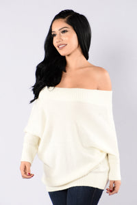 Jolene Sweater - Ivory