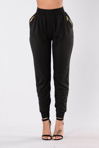 Always Something Pants - Black