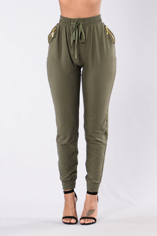 Always Something Pants - Olive