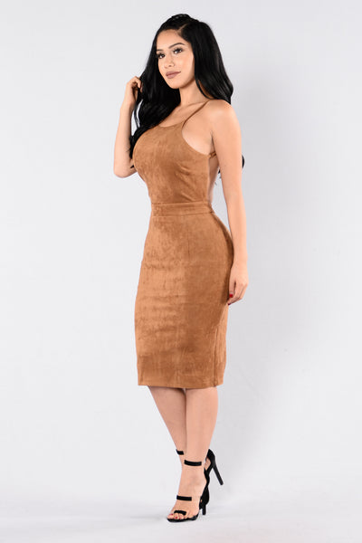 Kenya Dress - Camel