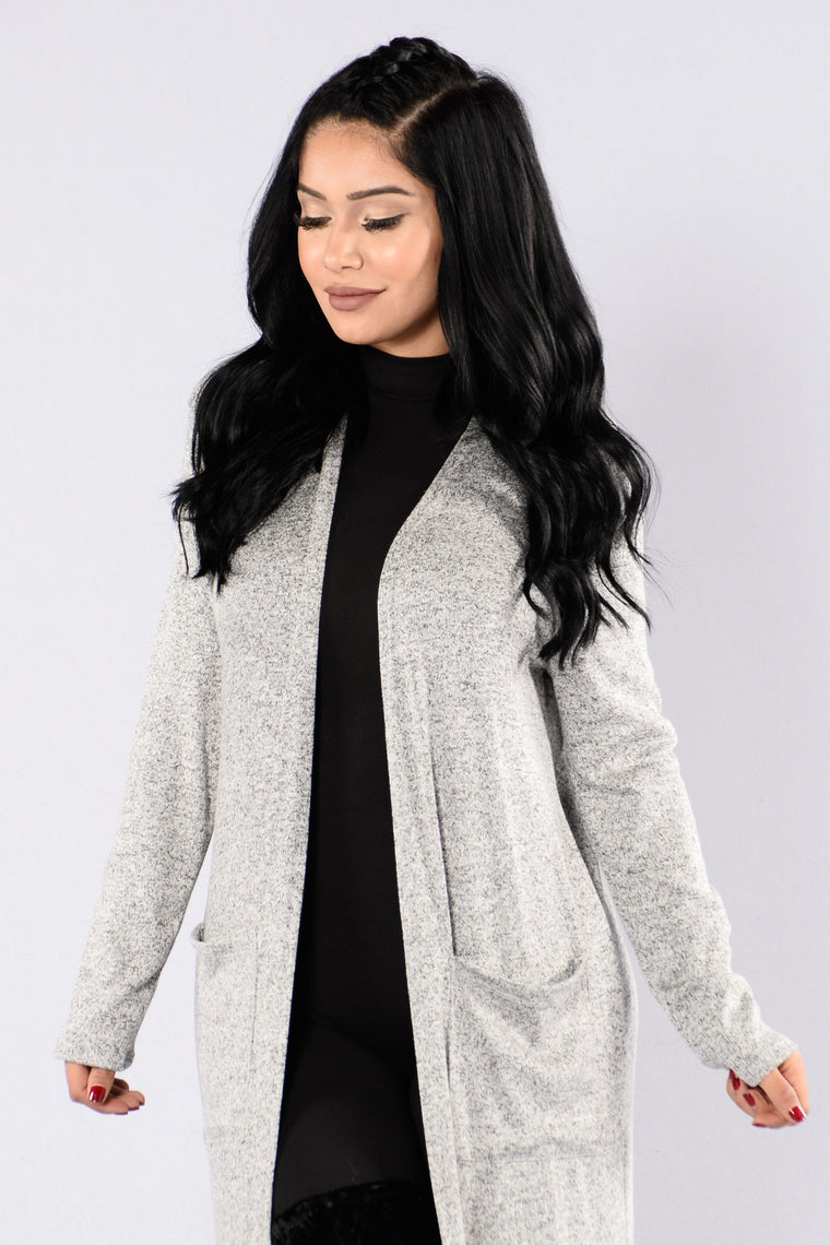 All Around Me Sweater - Heather Grey