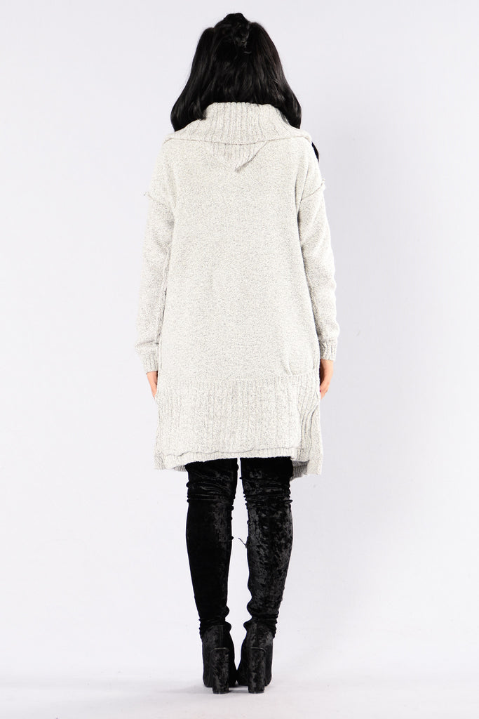Seasonal Change Sweater - Grey