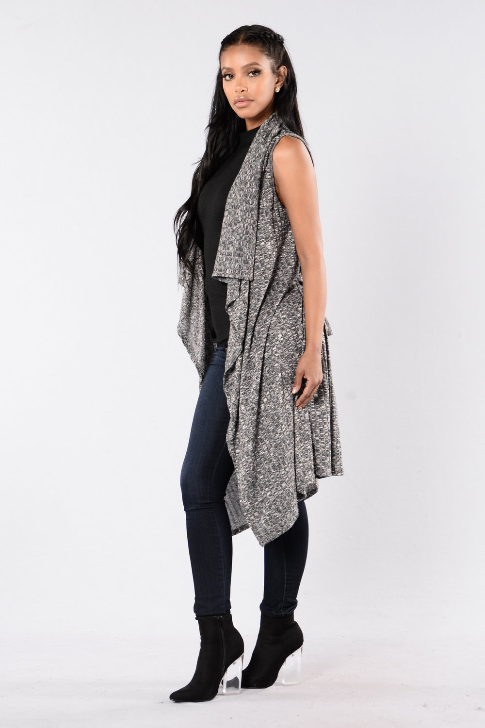 Drift Away Duster - Grey
