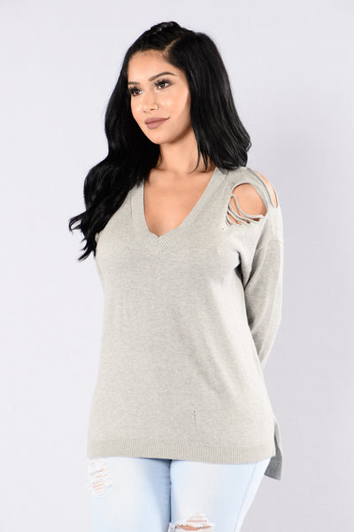 West Village Sweater - Grey