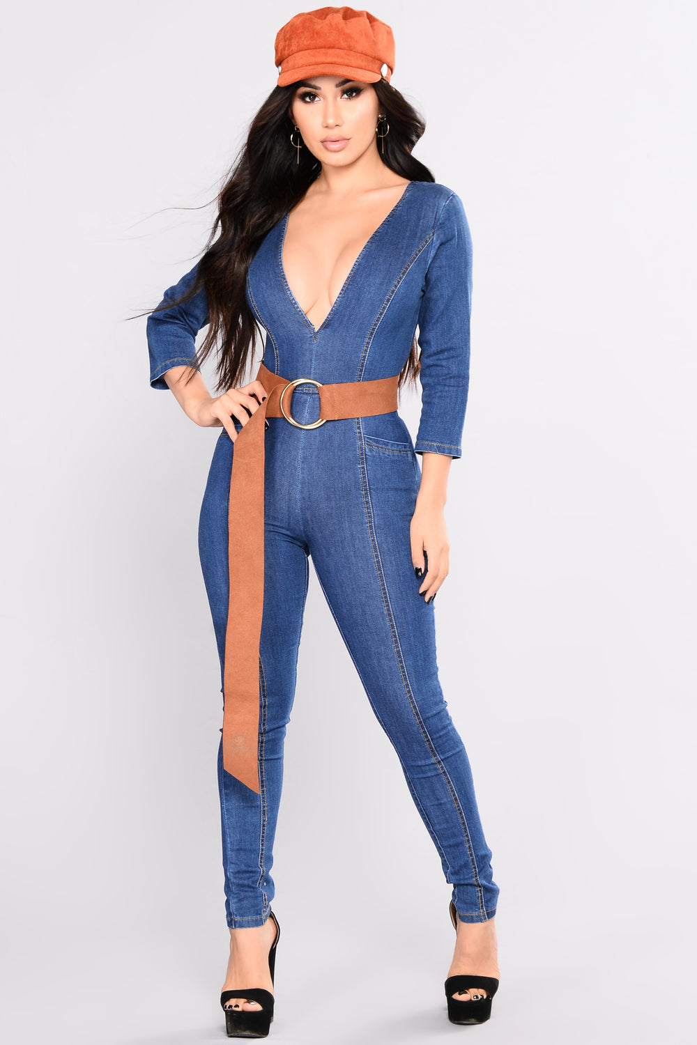 Jumping Blues Jumpsuit - Dark