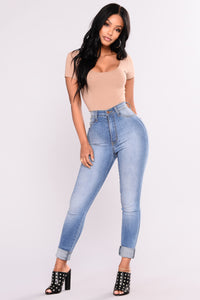 Take It Personal Bodysuit - Taupe