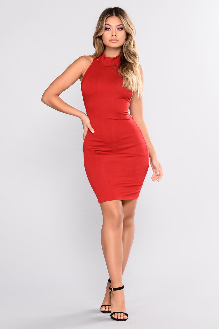 Brookside Dress - Red