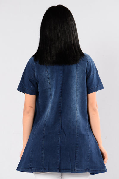 With Class Jacket - Indigo