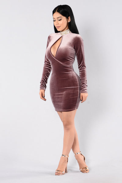 Who's Keeping Score Dress - Pastel Brown