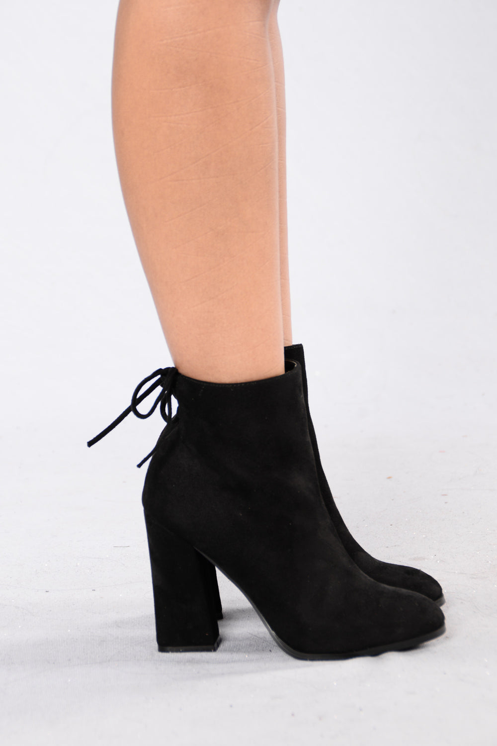 Not Tied Up Boot - Black
