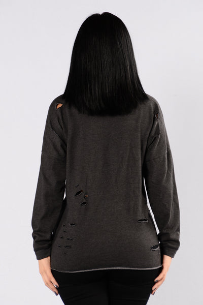 Let's Do It Again Sweater - Black