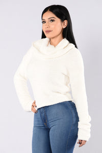 On The Grind Sweater - Ivory Angle 1