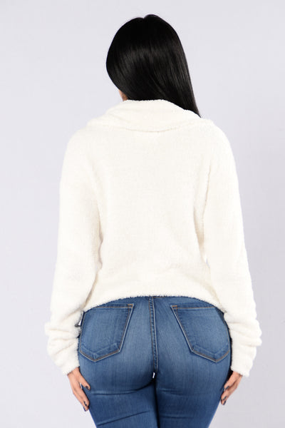 On The Grind Sweater - Ivory