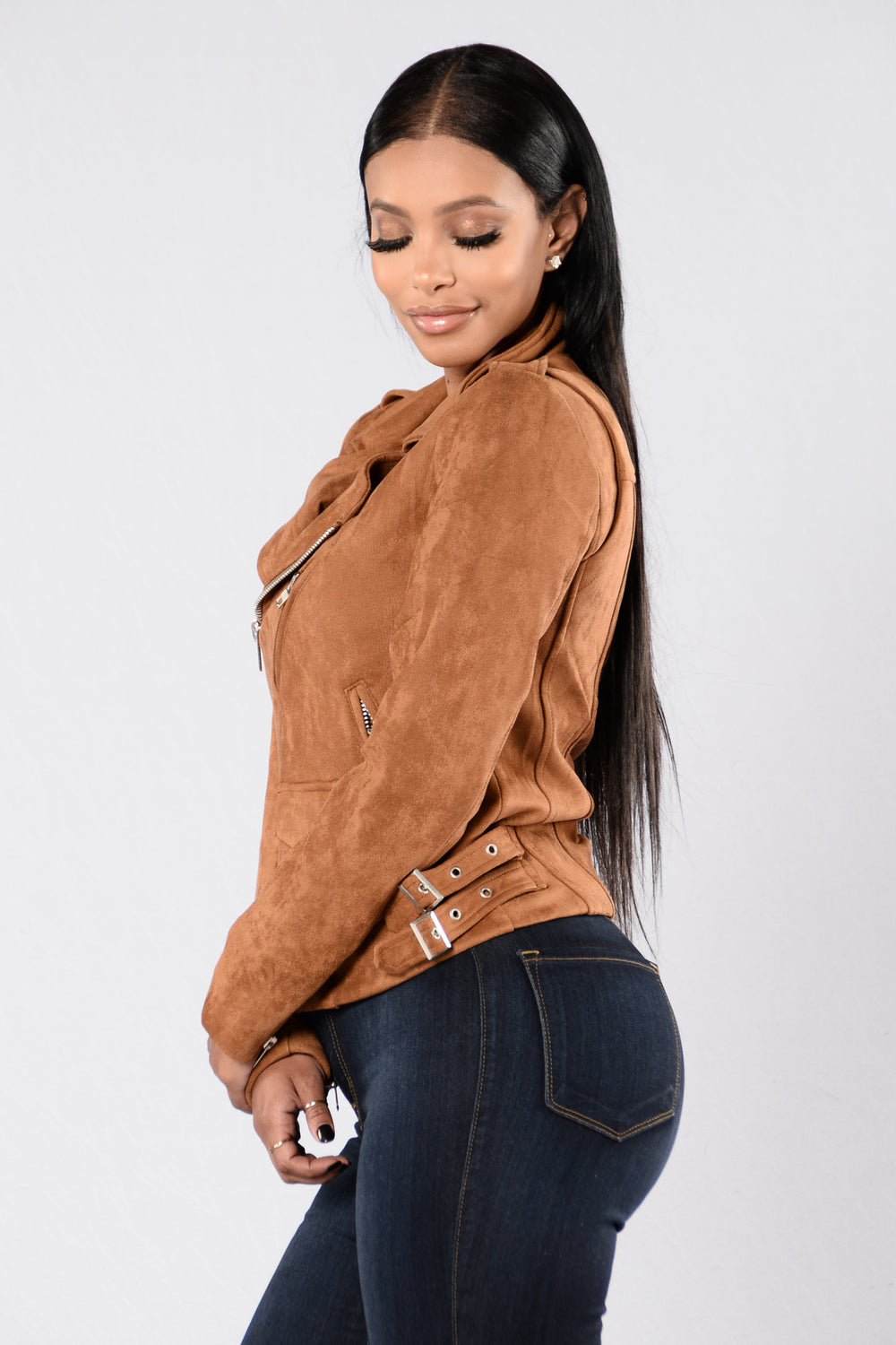 Point Of No Return Moto Jacket - Taupe