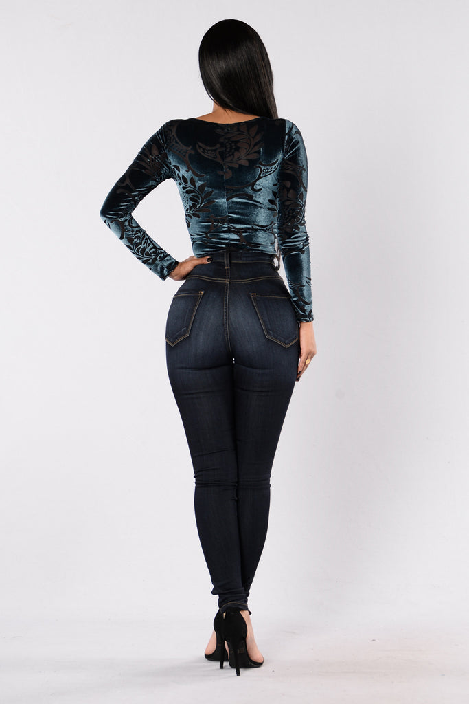 Get Down Tonight Bodysuit - Teal