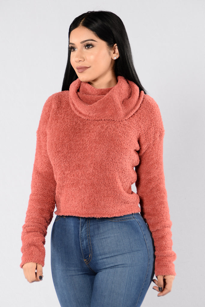 On The Grind Sweater - Blush