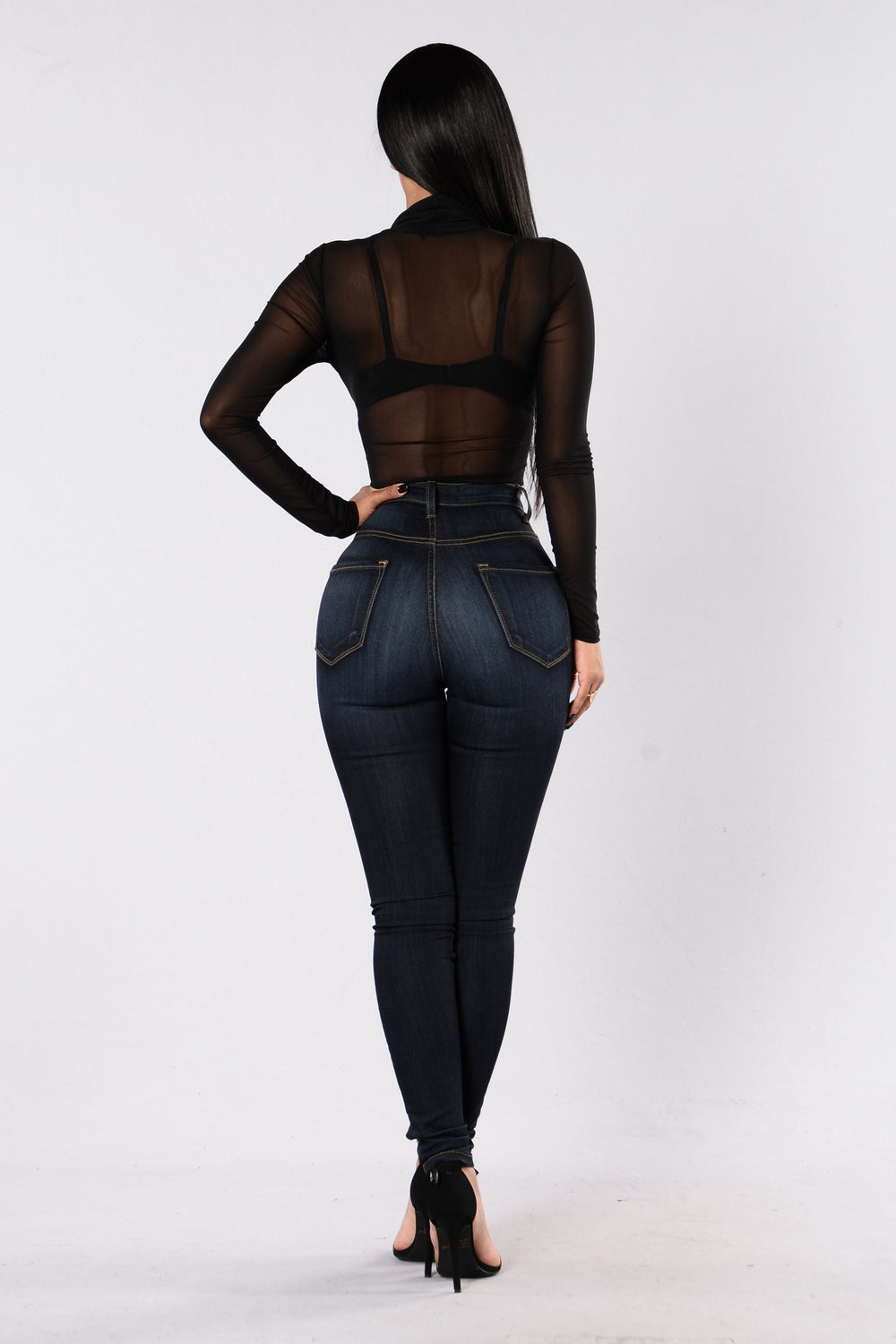 Be Bare Bodysuit - Black