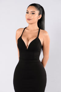 Trap Queen Dress - Black
