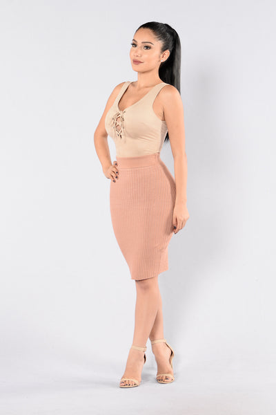 Holy Grail Skirt - Mauve