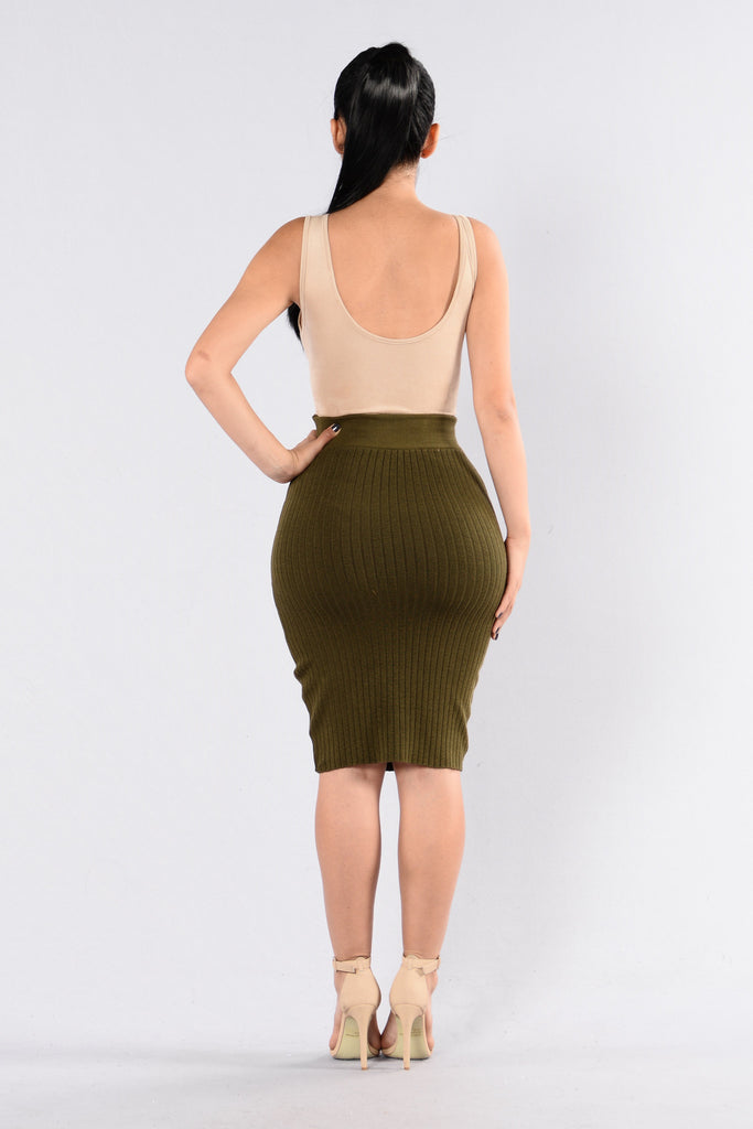 Holy Grail Skirt - Olive