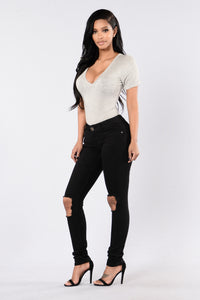 Current Event Jeans - Black Angle 6