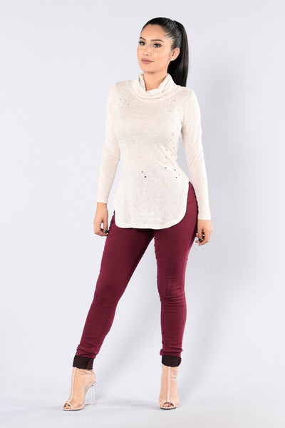 Killing Me Softly Top - Ivory