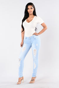 My Faves Jeans - Light Angle 2