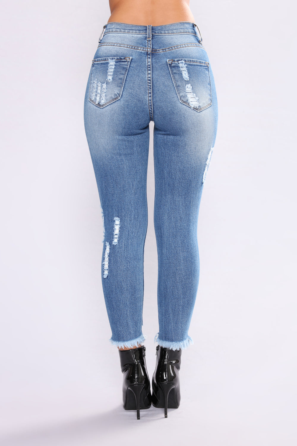 Hey There Babe Crop Jeans - Medium