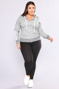 Meshing Up Active Leggings - Black Angle 2