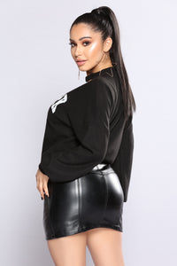 New York Gal Top - Black