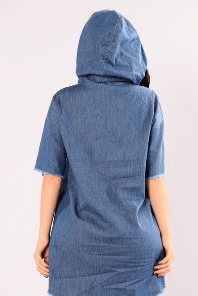 Bonnie Tunic - Medium Wash