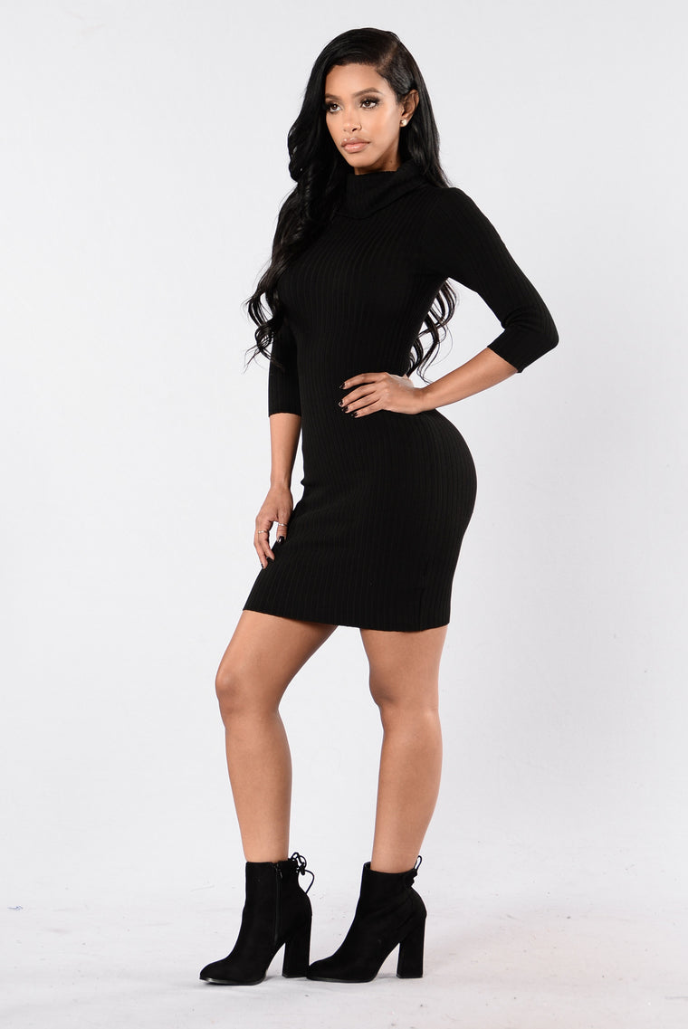Perfectly Fit For Me Dress - Black