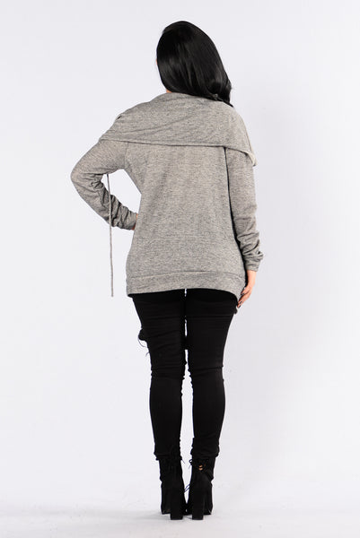 Girl Please Jacket - Grey