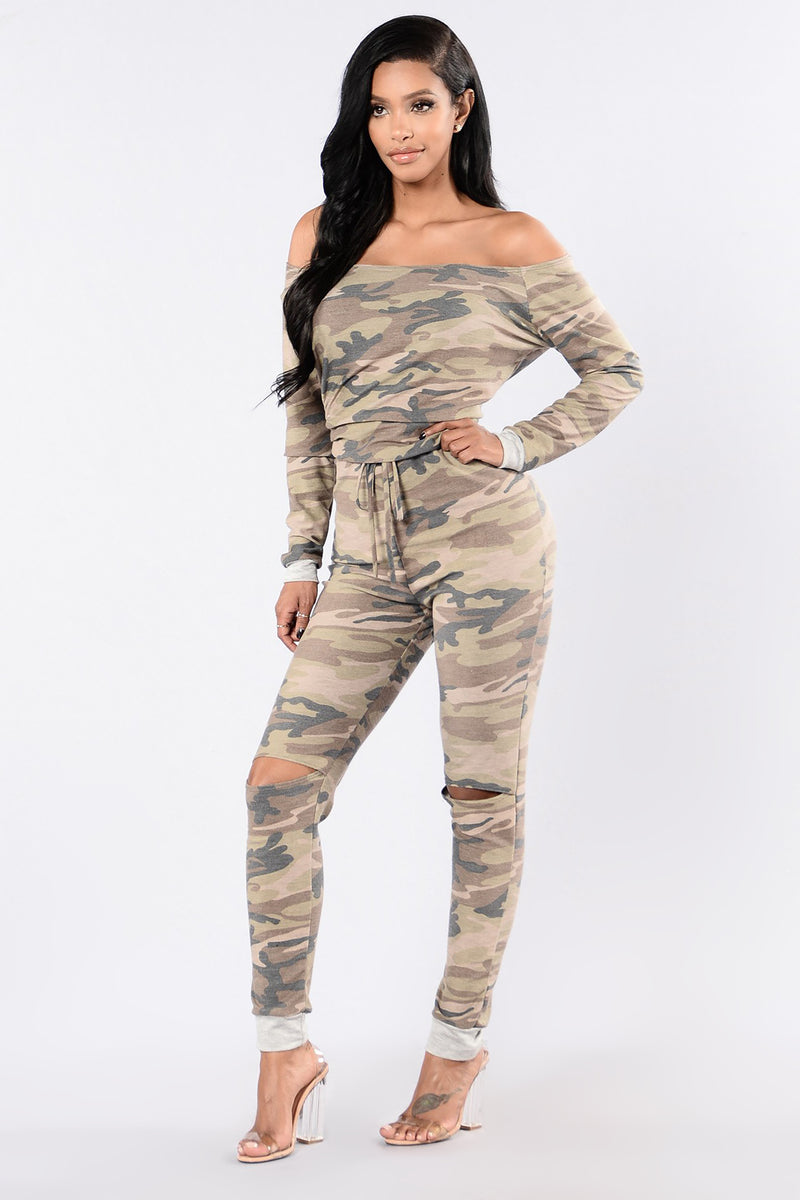 Cadet Kelly Jumpsuit - Camo