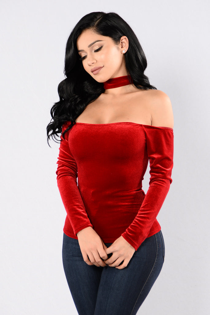 Electric Mood Top - Red