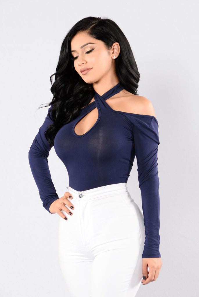 Feeling So Young Bodysuit - Navy
