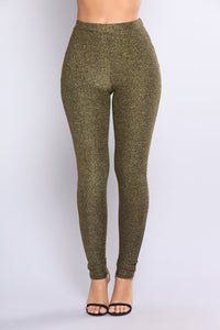 Night Moves Pant Set - Gold