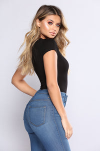Gabi Bodysuit - Black