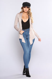 Official Girl Cardigan - Mocha