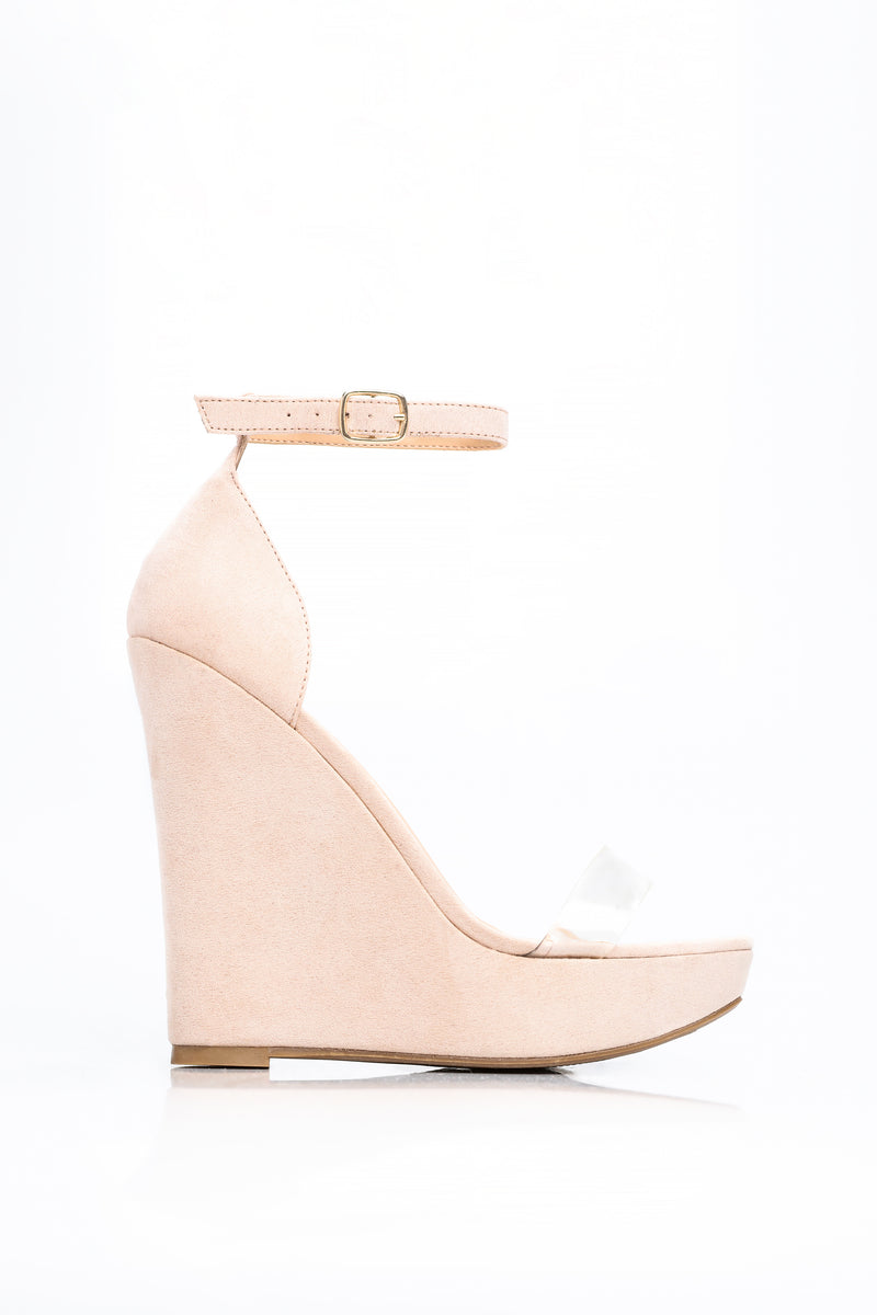 On Edge Wedge - Blush