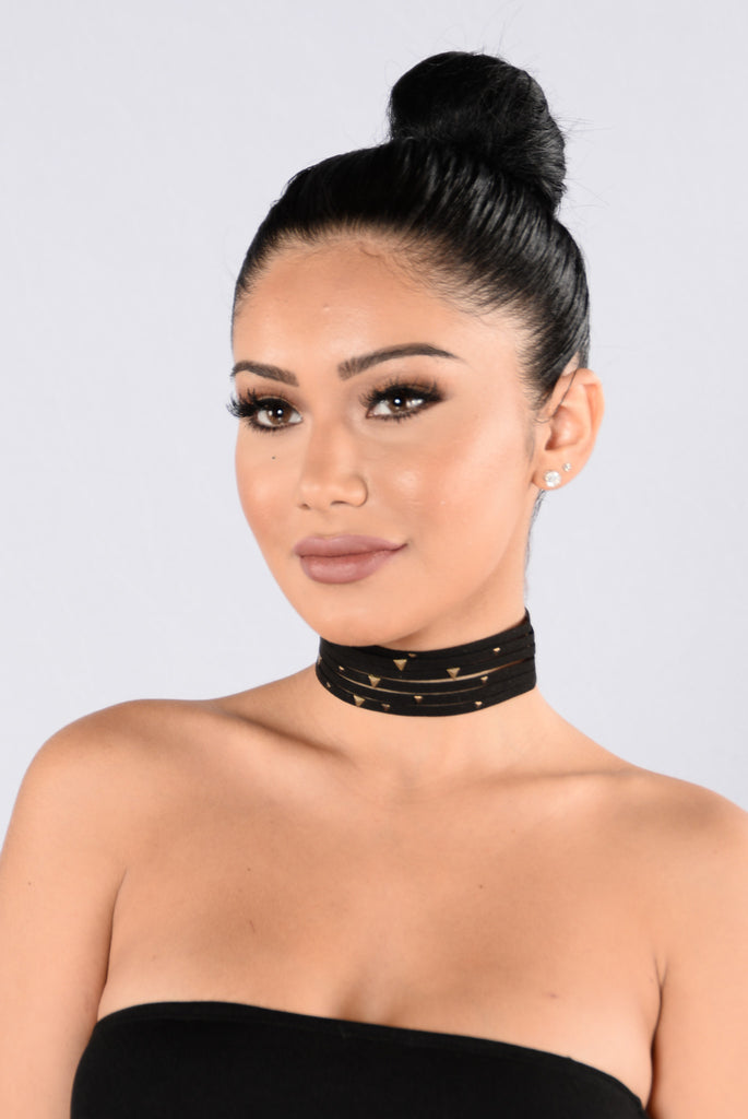Backstage Lover Choker - Black
