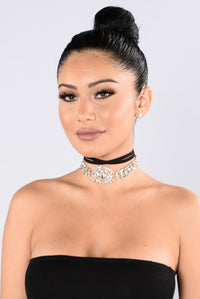 Late Night Lover Choker - Clear