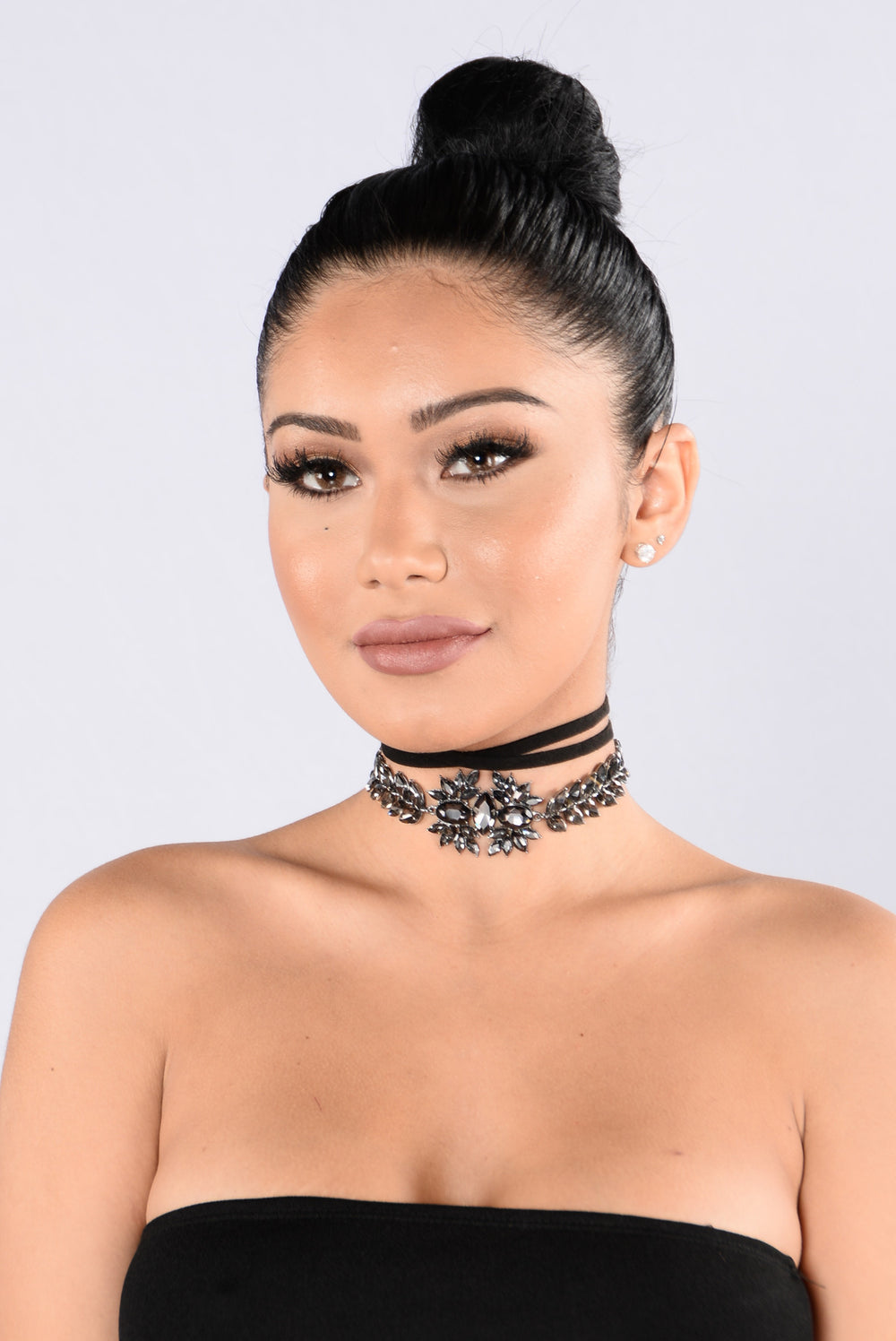 Late Night Lover Choker - Black
